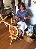 Wollstube: Alles rund um die Wolle, Muddings Wollstuv im Bauernhaus Lütten Klein