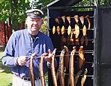 Räuchern von Fisch