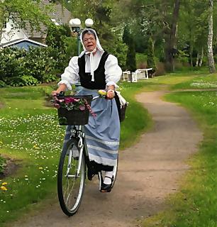 Unterwegs mit Margarethe (geführte Radtour)