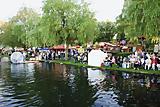 Krakower Fischerfest- an der Seepromenade Krakow am See