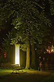Ostseeheilbad Graal-Müritz: Nachts im Park