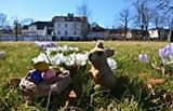 Saisonauftakt mit Eierlikörempfang und Ostereiersuche im Feldberger Kurpark