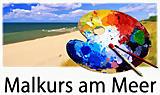 Kaiserbäder Insel Usedom: Herbst Malkurs am Meer