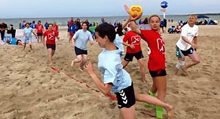 Boltenhagen: Beach-Handballturnier