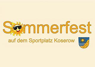 Sommerfest des Koserower Sportvereins