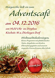 Adventscafe' im Dörphus