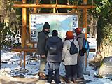 Spurensuche im Winterwald
